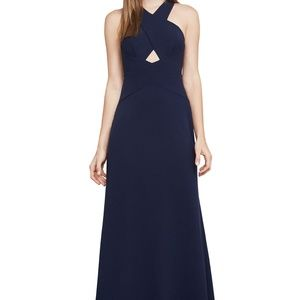BCBG Salome Gown NAVY Size 6 #20